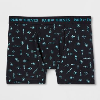 Pair of Thieves Men's SuperFit Boxer Briefs - Black M