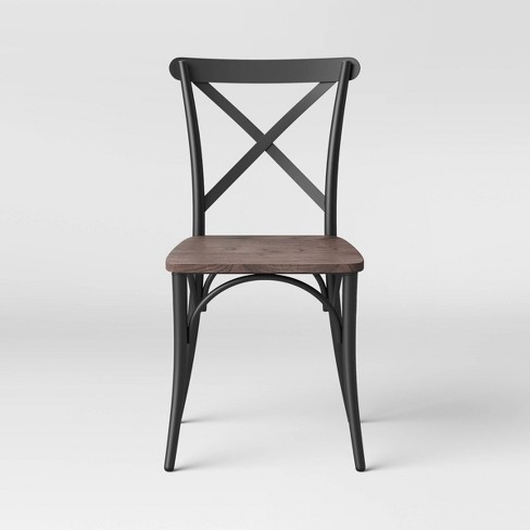 Malden French Bistro Dining Chair with Wood Seat - Threshold™ - image 1 of 4