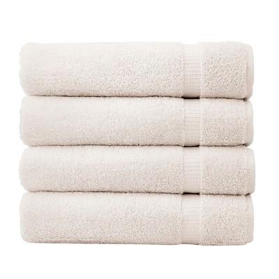 4pc Villa Bath Towel Set Ivory - Royal Turkish Towel