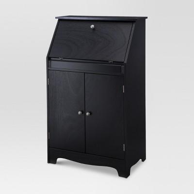 Secretary Desk - Black - Threshold™