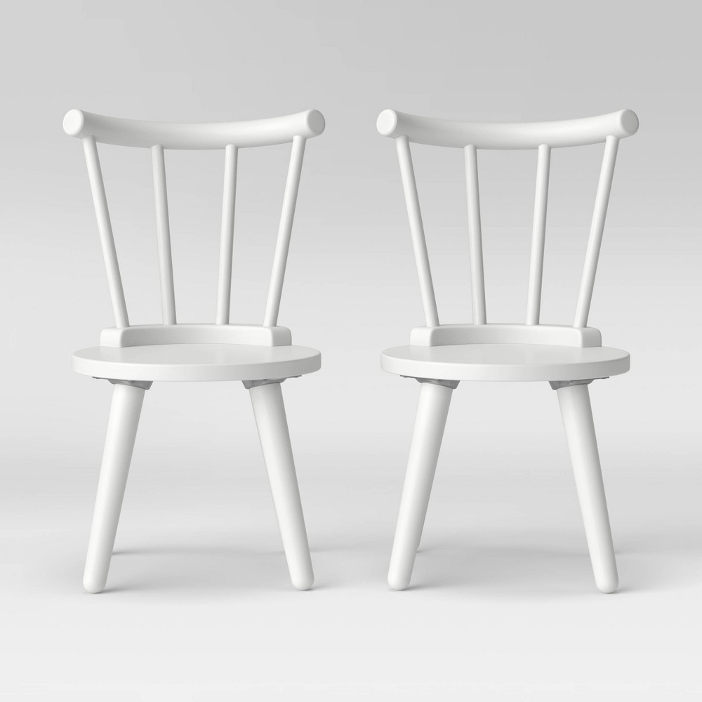 Image of Delta Children Homestead Chair Set - 2pc Bianca White