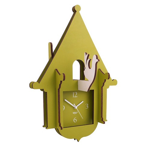 Jigsaw Cuckoo Clock Green - WOLF® - image 1 of 1