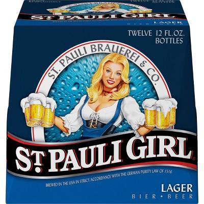 St. Pauli Girl Lager Beer - 12pk/12 fl oz Bottles
