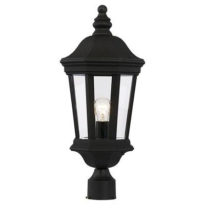 Bel Air Lighting Outdoor Post Light Black