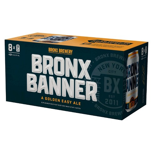 Bronx® Banner Golden Easy Ale - 8pk / 12oz Cans - image 1 of 1