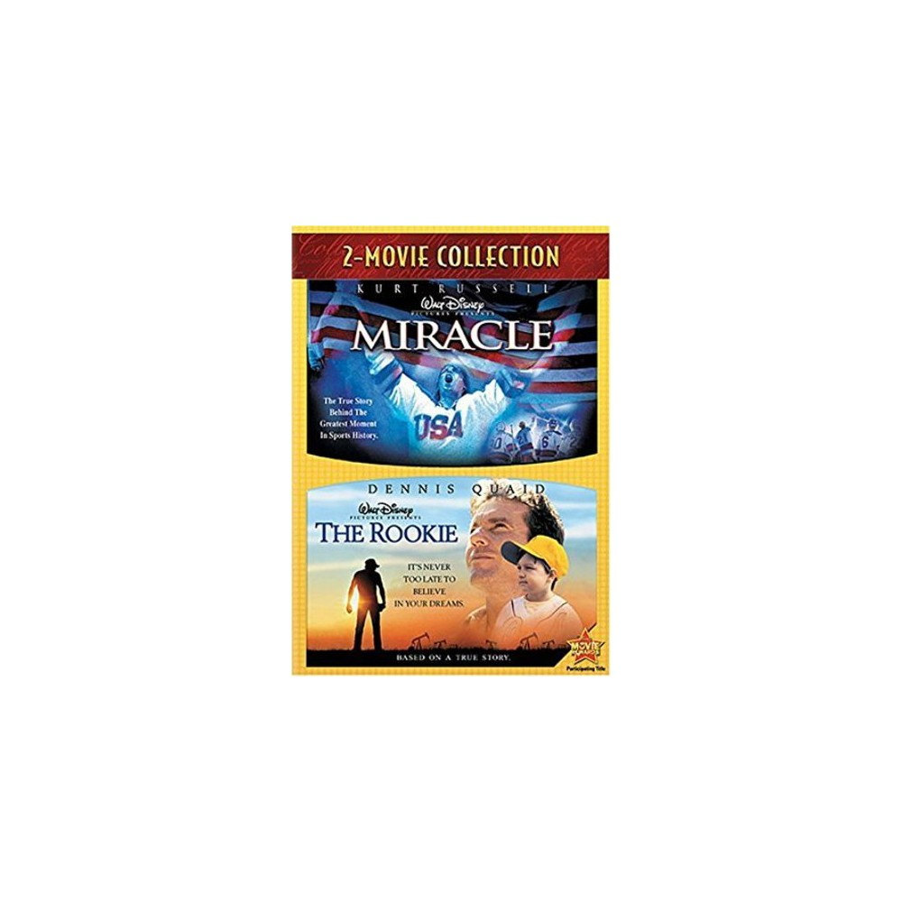 Miracle/Disney's the Rookie 2-Pack (Dvd)