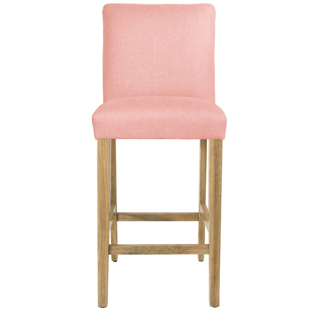 Parsons Barstool Petal Linen with Natural Legs - Threshold Coupons