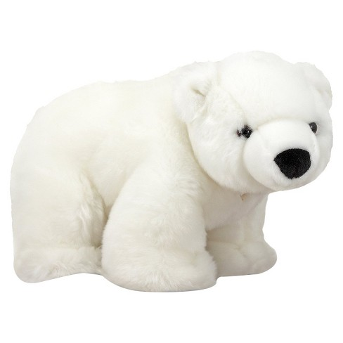 Melissa Doug Glacier Polar Bear Stuffed Animal Target