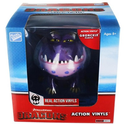 """The Loyal Subjects How To Train Your Dragon 6""""-7"""" Action Vinyl: Gronckle (Purple)"""