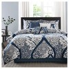 Adela 7 Piece Cotton Printed Comforter Set - image 2 of 4