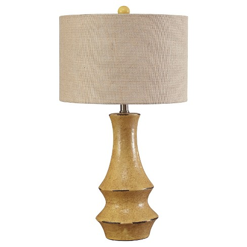 Jenci Table Lamp Antique Yellow - Signature Design by Ashley - image 1 of 3