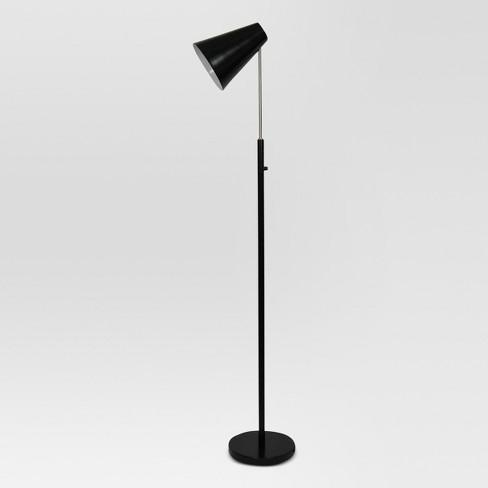 Dual Function Led Floor Lamp Black Includes Energy
