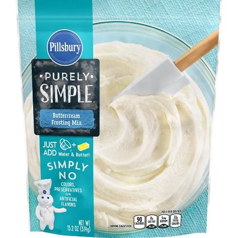 Pillsbury Purely Simply Buttercream Frostin Mix - 13.2oz - image 1 of 4