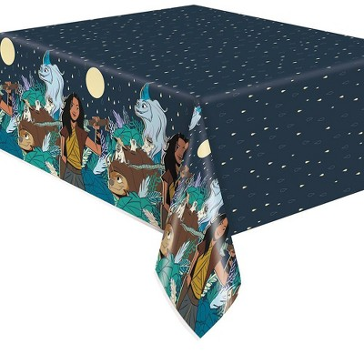 Raya and the Last Dragon Disposable Table Cover