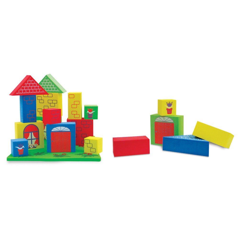 Edushape Floating Blocks, Bath Toys