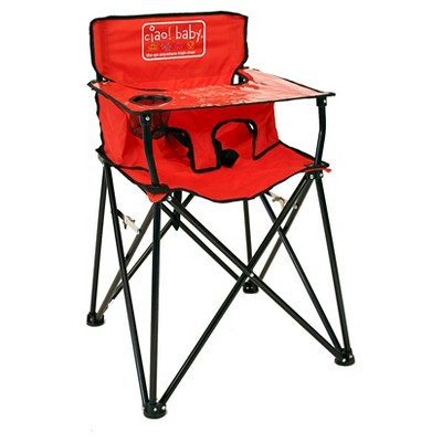 Ciao Baby Portable High Chair - Red