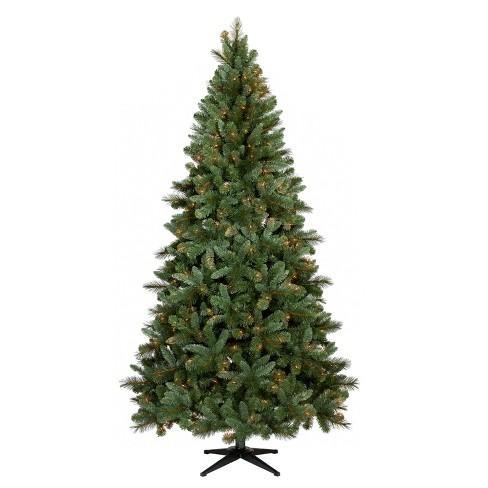 7.5ft Prelit Artificial Christmas Tree Douglas Fir Clear Lights -  Wondershop™ - 7.5ft Prelit Artificial Christmas Tree Douglas Fir... : Target