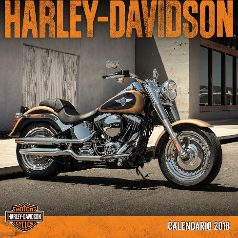2018 Harley-Davidson Wall Calendar (Spanish Edition ) - Trends International - image 1 of 4