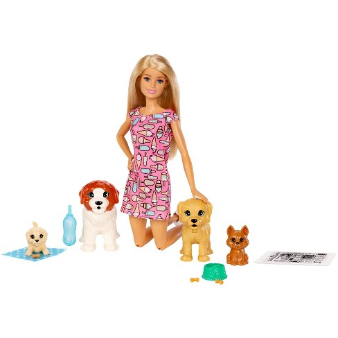 Barbie Doggy Daycare Doll & Pets - image 1 of 4