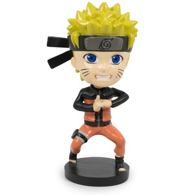 Just Funky Naruto Shippuden Collectible PVC Statue Bobblehead   4.75 Inches Tall