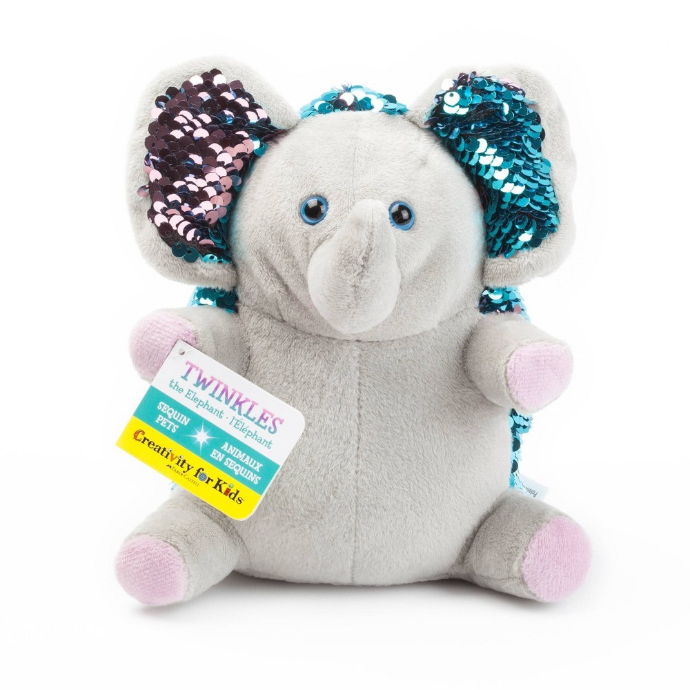 Image of Creativity for Kids Twinkles the Elephant Sequin Pets