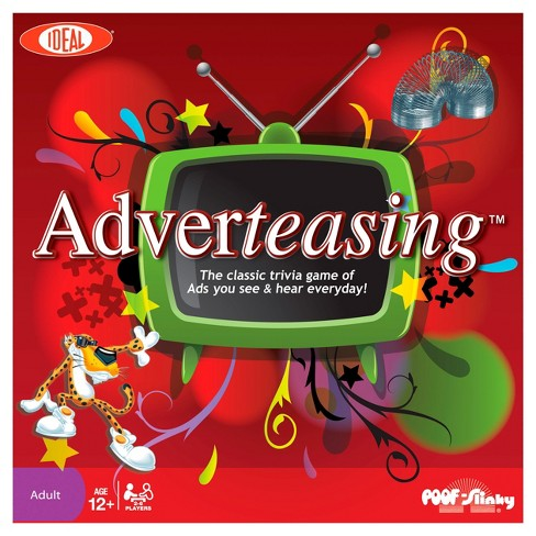 Ideal Adverteasing Trivia Board Game - image 1 of 1