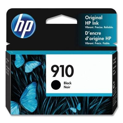 HP 910 Original Ink Cartridge - Black (3YL61AN)