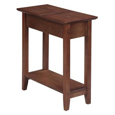 American Heritage Flip Top End Table - Johar Furniture