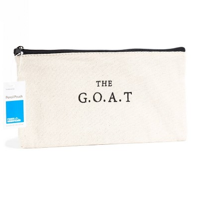 The G.O.A.T. Pencil Pouch - Gray