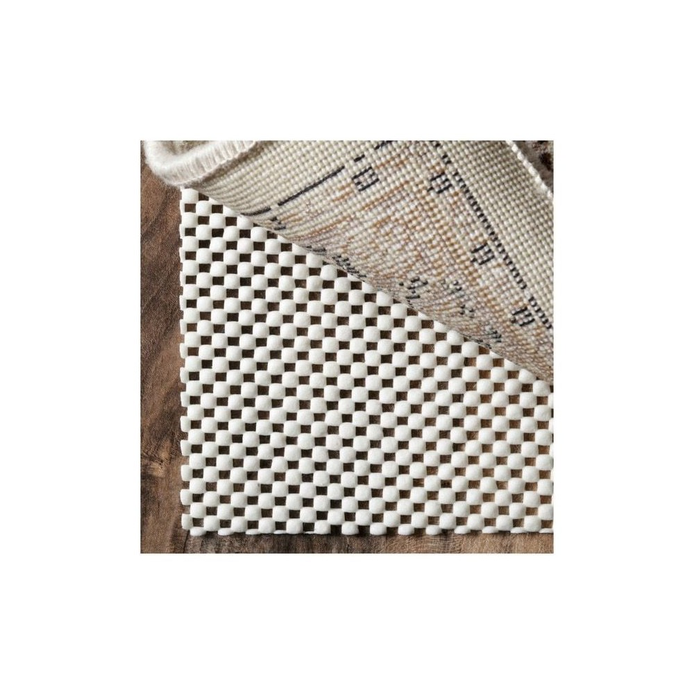 White Solid Loomed Area Rug 8'x10' - nuLOOM