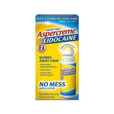 Aspercreme Lidocaine with No Mess Applicator - 2.5oz.
