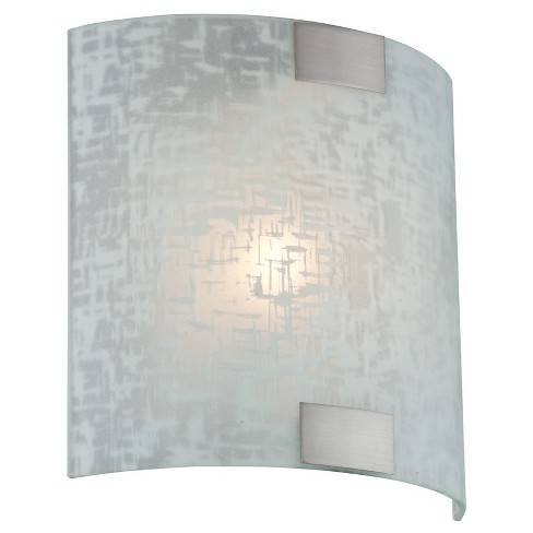 Sancho Sconce Wall Light - Polished Steel -Lite Source - image 1 of 2