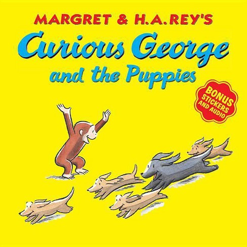 Curious George and the Puppies - by  H A Rey (Mixed media product) - image 1 of 1