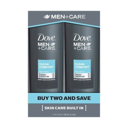 Dove Men+Care Clean Comfort Body and Face Wash - image 1 of 4