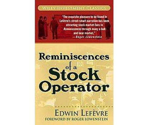 Reminiscences of a Stock Operator (Paperback) (Edwin Lefevre) - image 1 of 1