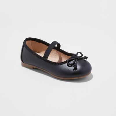 Toddler Girls' Becca Ballet Flats - Cat & Jack™ Black 7