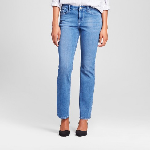67cf8f080 Women s Curvy Fit Signature Straight Leg Jeans - Crafted by Lee® Light Denim  Wash