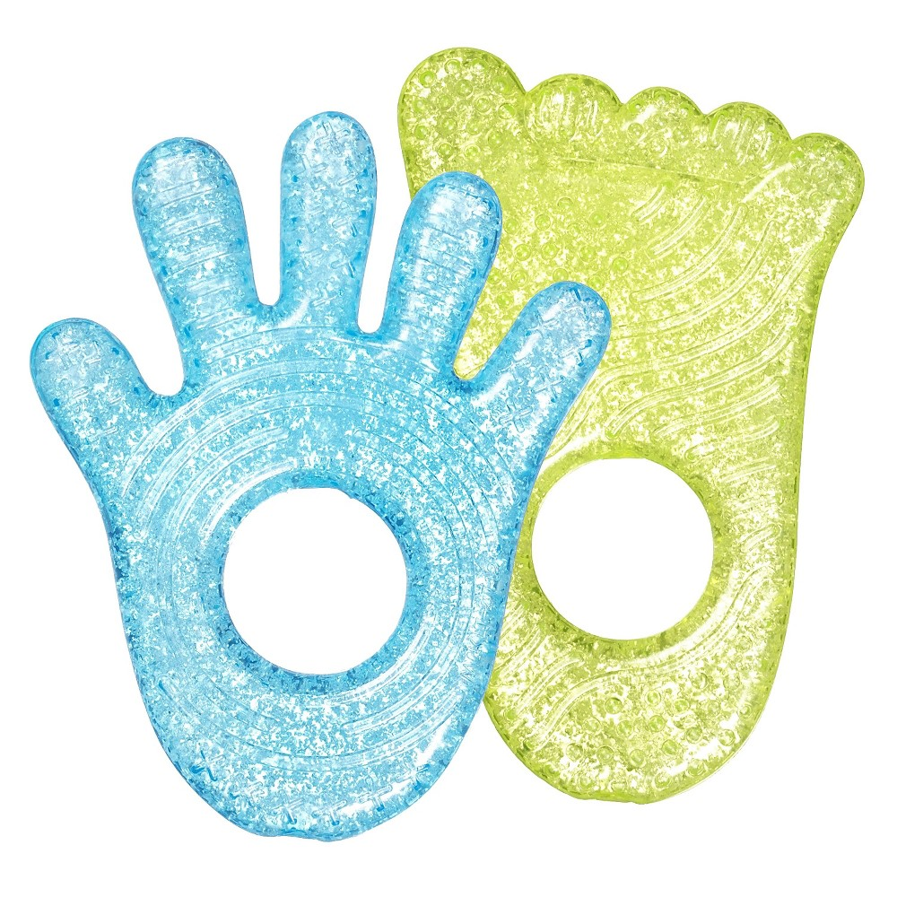 Munchkin Fun Ice Chewy Teether - 2pk, Multi-Colored