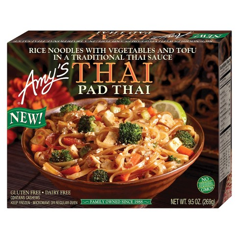 Amy's Gluten Free Frozen Pad Thai Meal - 9.5oz - image 1 of 1