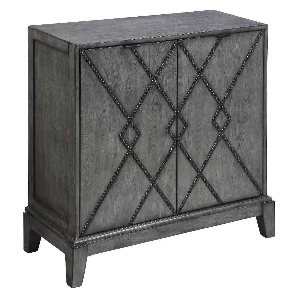 Christopher Knight Home Kino Storage Cabinet Gray