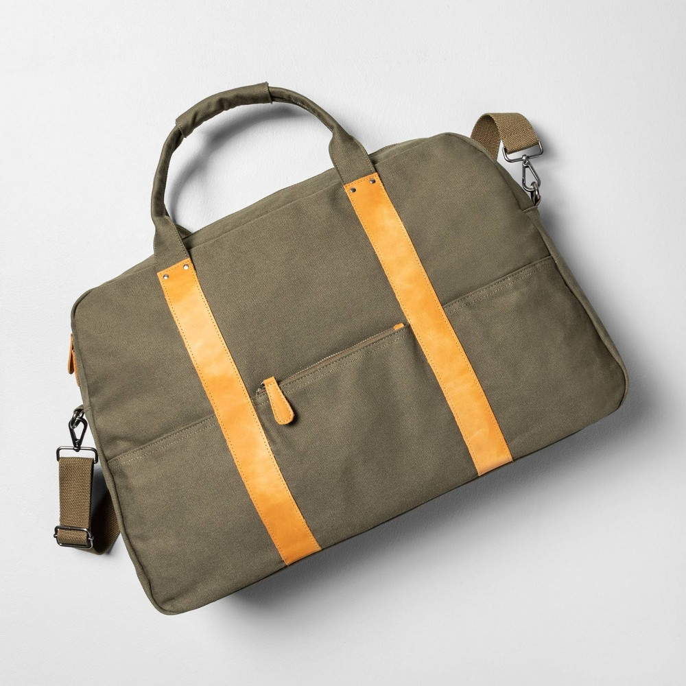 Carry On Weekender Bag Green - Hearth & Hand with Magnolia was $59.99 now $29.99 (50.0% off)