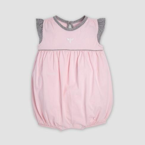 Burt s Bees Baby® Baby Girls  2pk Organic Cotton Ditsy Blossoms Bubble Romper  Set - Indigo   Target d4cd504f459a