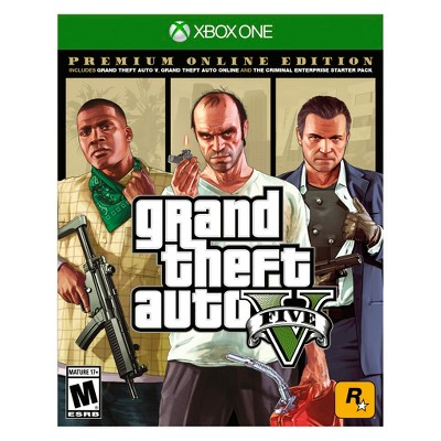 Grand Theft Auto V: Premium Online Edition - Xbox One