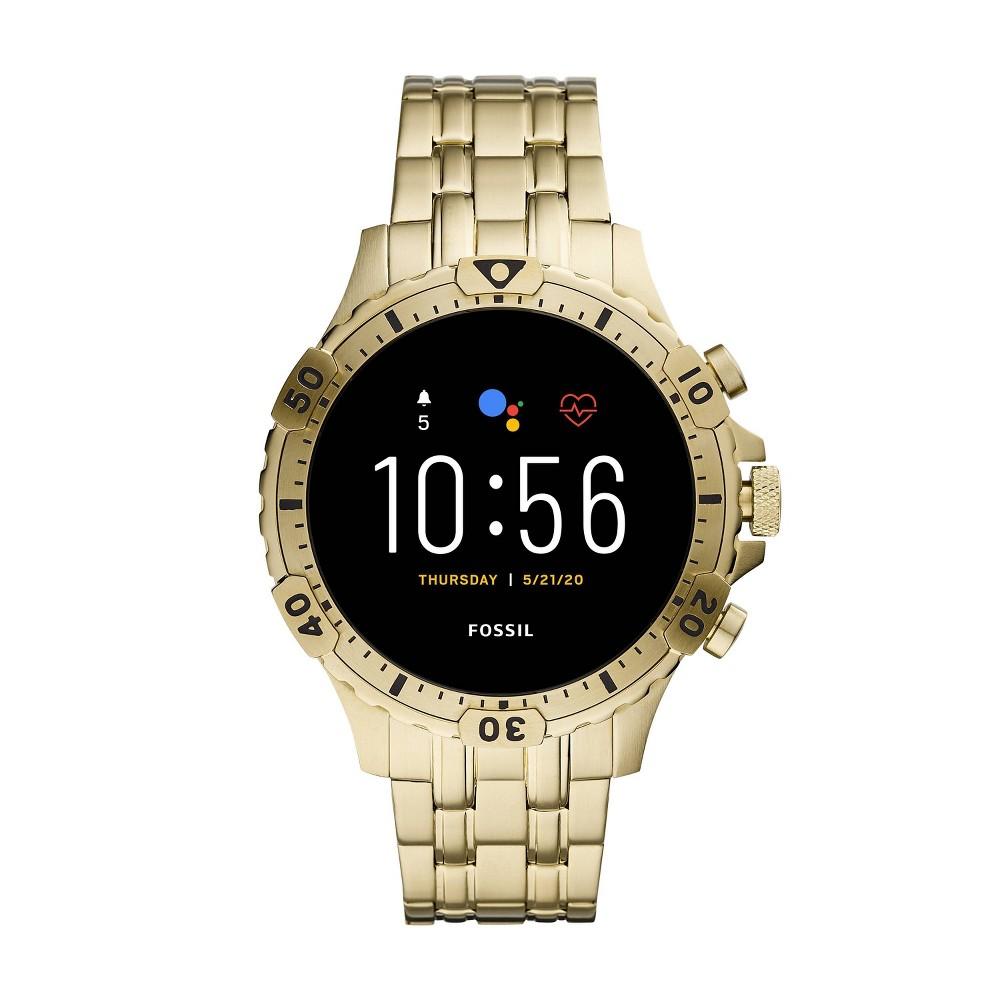 Fossil Gen 5 Smartwatch - Garrett HR Gold-Tone Stainless Steel was $295.99 now $199.0 (33.0% off)