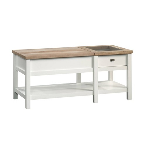 Cottage Road Lift Top Coffee Table Soft White Sauder Target