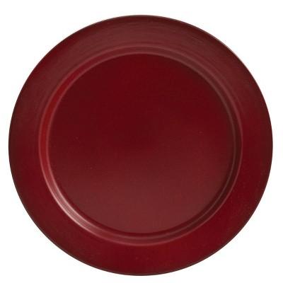Park Designs Enamel Dinner Plate Set - Red