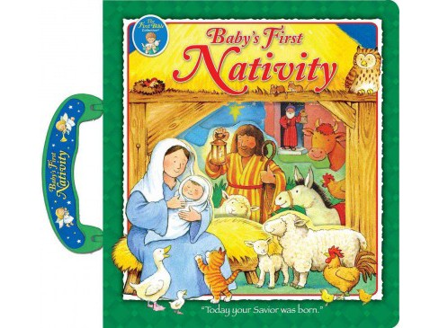 Baby's First Nativity (Hardcover) (Muff Singer) - image 1 of 1