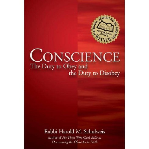Conscience - by  Harold M Schulweis (Paperback) - image 1 of 1
