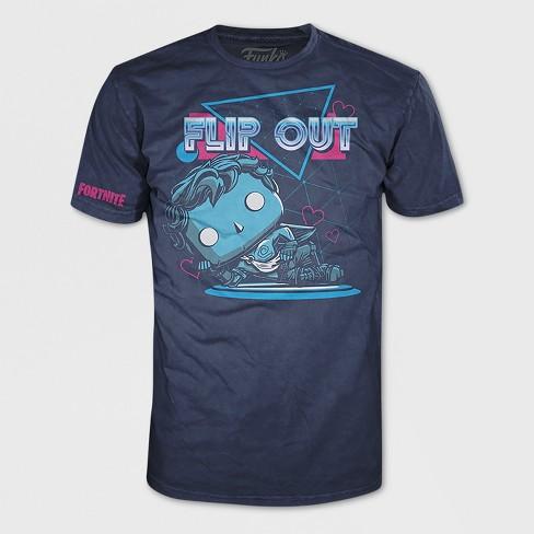 7e5a12e2 Kids' Funko POP! Fortnite: Love Ranger Short Sleeve T-Shirt - Navy ...