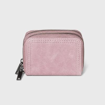 Women's Small Double Zip Wallet - Universal Thread™